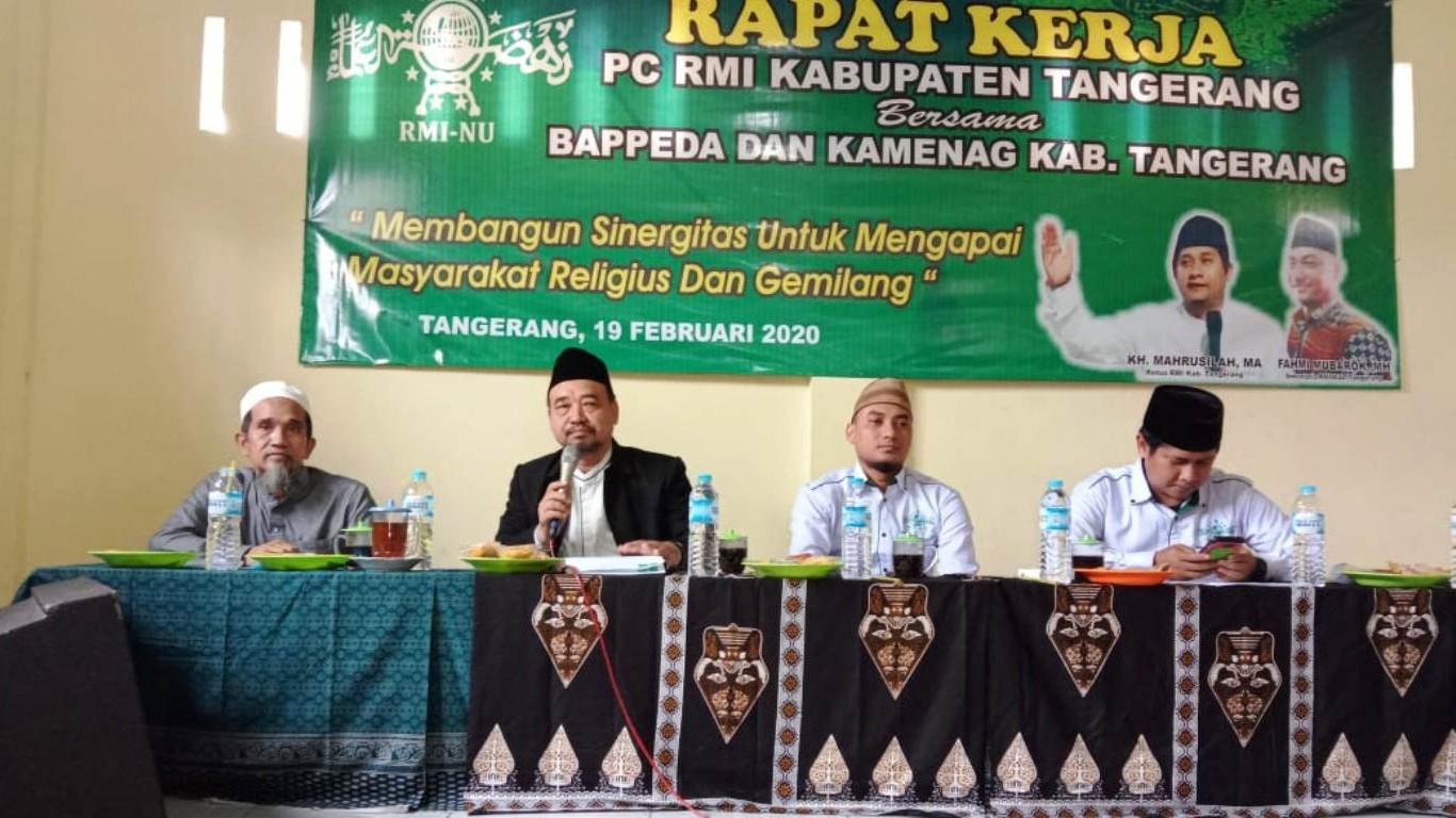 Penguatan Pesantren Salaf Jadi Program Unggulan RMINU Tangerang