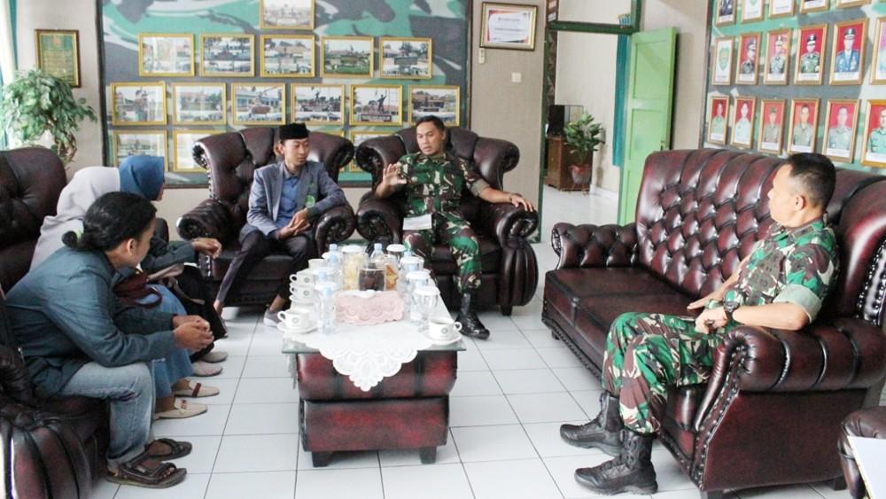 IPNU-IPPNU Indramayu Gandeng Kodim untuk Tingkatkan Nasionalisme