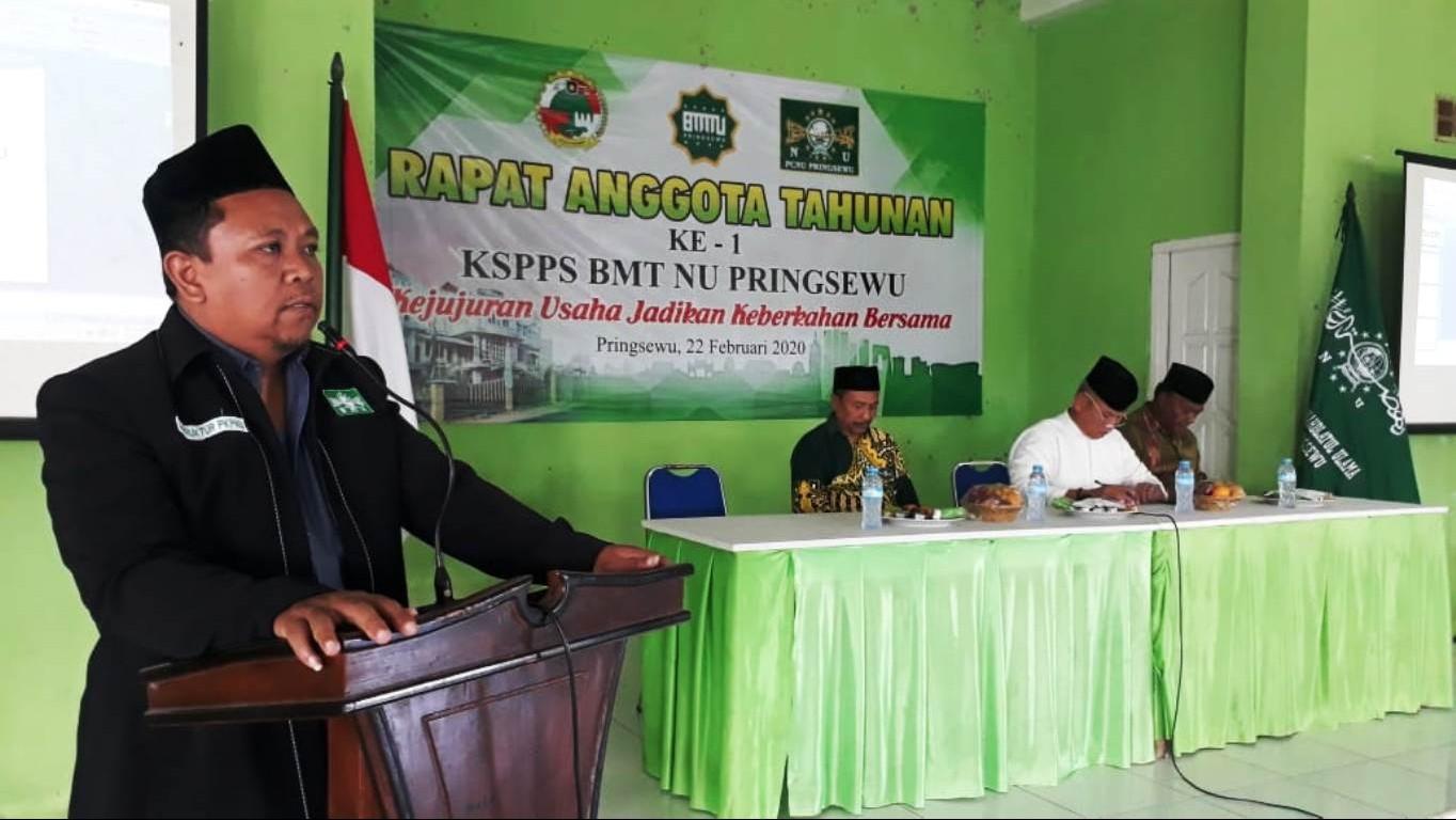 Ketua BMTNU Pringsewu: Wujudkan Karya Nyata, Bukan Karya Kata