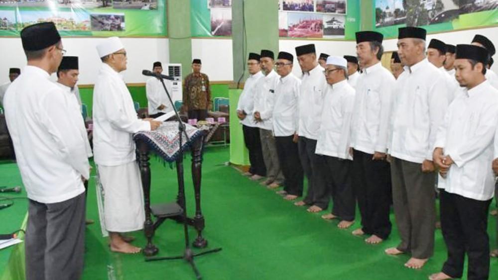 Bupati Tegal Pesan Pengurus Bisa Kelola Masjid dengan Benar