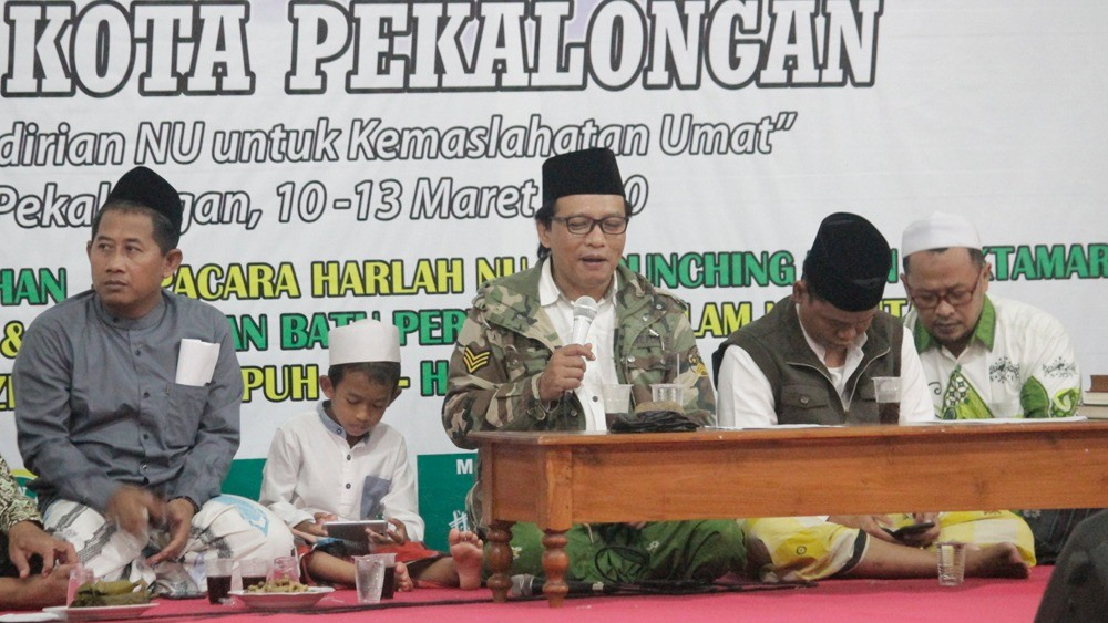 Khotmil Qur'an Awali Rangkaian Harlah Ke-97 NU di Pekalongan