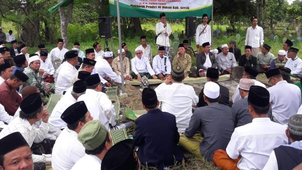 NU Dukun Gresik Revitalisasi Makam Kiai Faqih Maskumambang