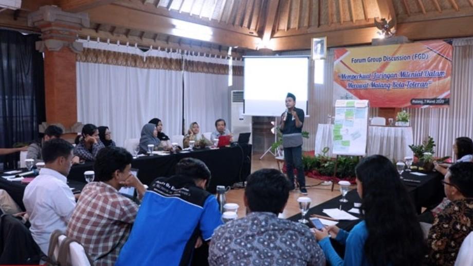 Lakpesdam NU Kota Malang Ajak Milenial Wujudkan Toleransi