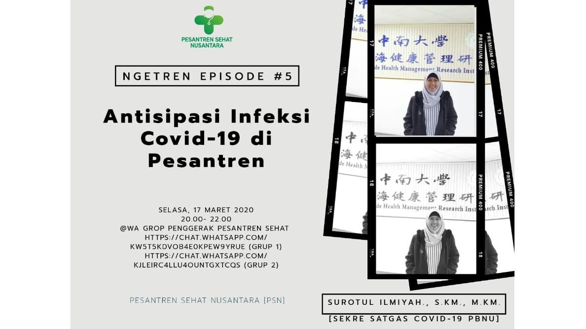 Manfaatkan Medsos, Pesantren Sehat Nusantara Sosialisasikan Antisipasi Covid-19