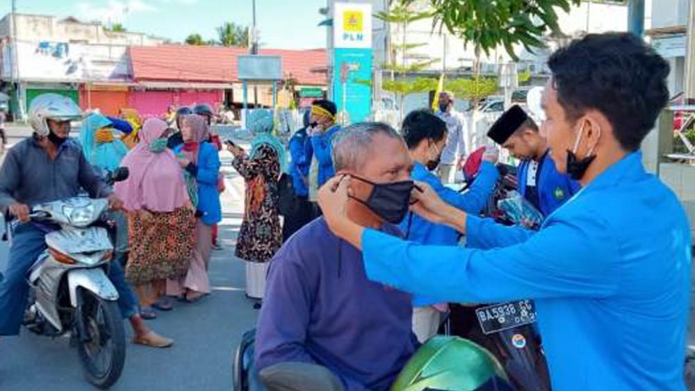 PMII Pariaman Ingatkan Warga untuk Bantu Pemerintah Cegah Covid-19