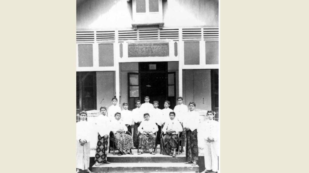 Potret Pengajar Mambaul Ulum Surakarta Tahun 1939