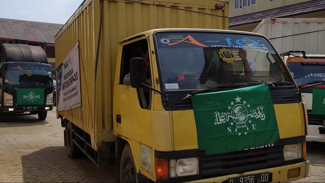 PBNU Distribusikan Puluhan Ribu Paket Sembako ke Berbagai Penjuru Indonesia