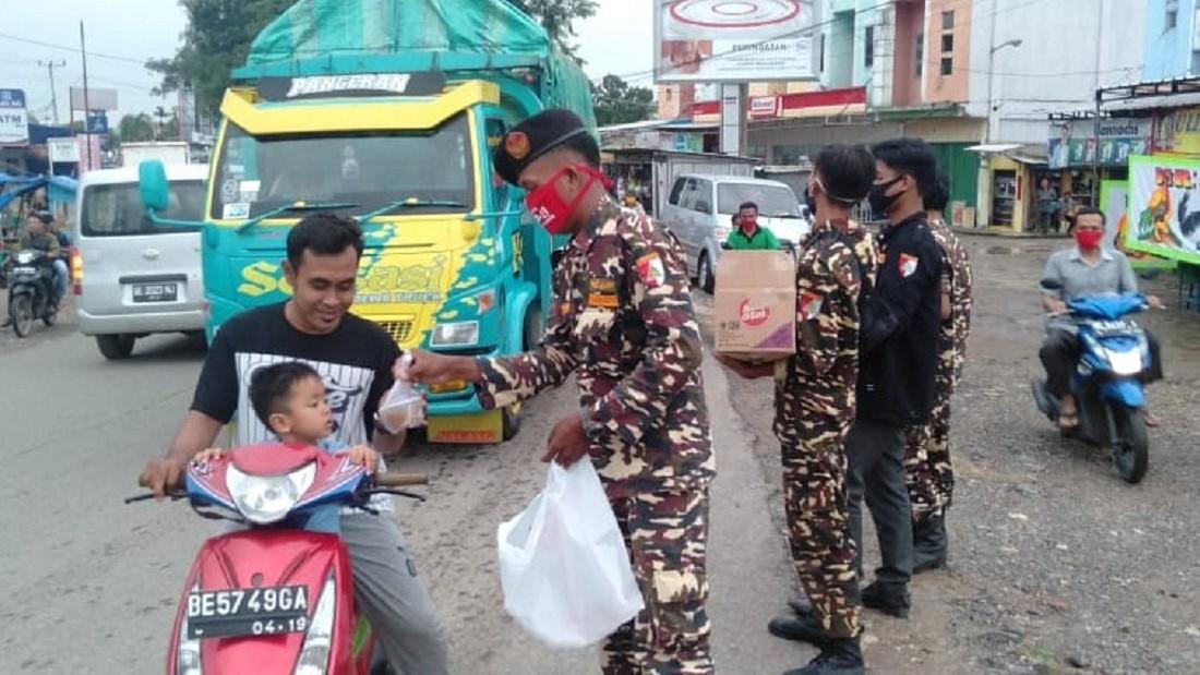 Inilah Kebersamaan NU Lampung Tengah dalam Tanggulangi Dampak Covid-19