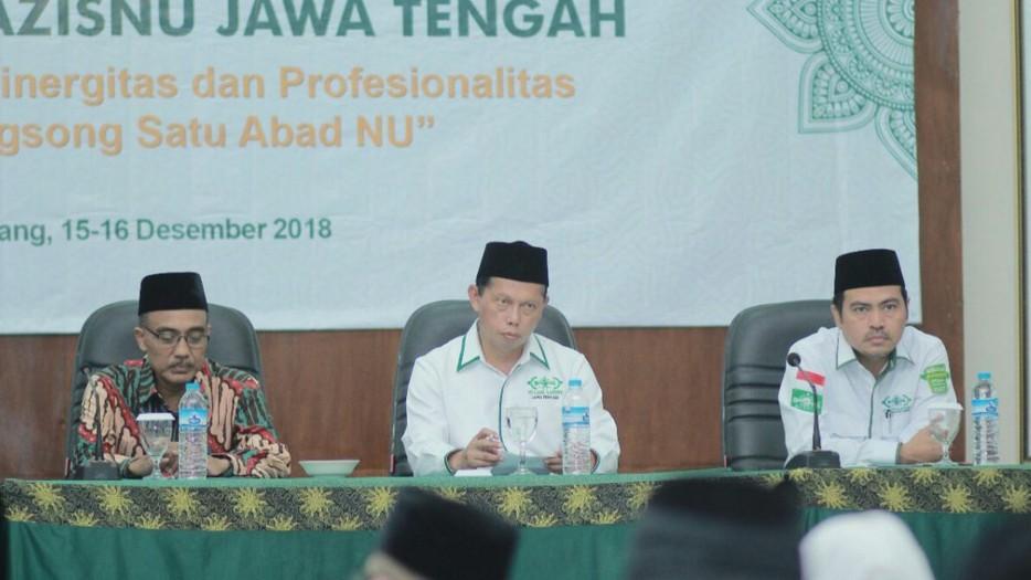 LAZISNU Jateng Siapkan Lumbung Nusantara untuk Hadapi Krisis Pangan
