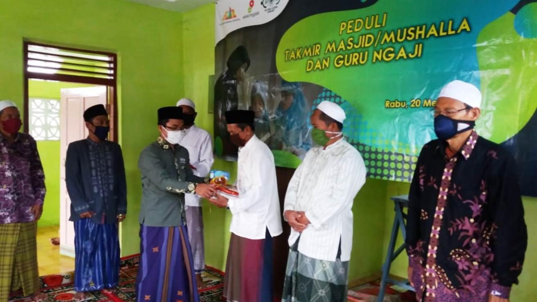 Ratusan Guru Ngaji dan Takmir Terima Bantuan dari LAZISNU Sumenep