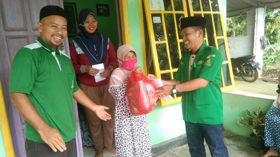 Baksos Ansor-Banser di Lampung Tengah Utamakan Janda dan Fakir Miskin