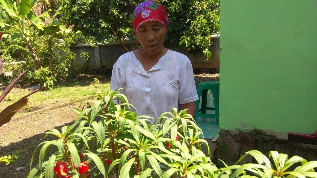 Akibat Covid-19, Pedagang Bunga Sekar di Kota Banjar Kehilangan Penghasilan