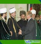 Putin Beri Medali Persahatan kepada Mufti Rusia