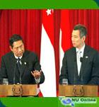 Presiden Yudhoyono Protes Soal Perjanjian Ekstradisi