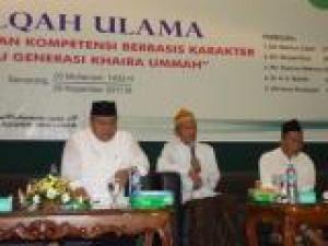 Halaqoh Ulama untuk Didik Karakter Mahasiswa