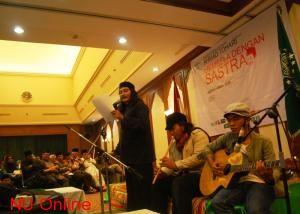 Abdullah Wong, Si Pembaca Pengemis dan Shalawat Badar