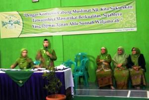 Hj Iis Pimpin Muslimat NU Subang Ke Depan