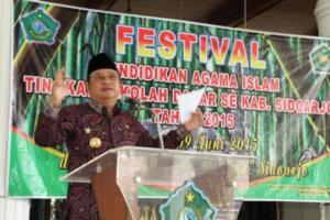 306 Siswa SD di Sidoarjo Ikuti Festival Pendidikan Agama Islam