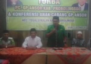 Aklamasi, Abdul Karim Pimpin GP Ansor Tegalsiwalan