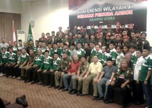 Aklamasi, Yusra Alhabsyi Ketua Baru GP Ansor Sulut