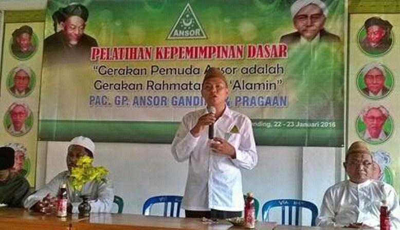 Gelar PKD, GP Ansor Ganding Angkat Tema Gerakan Rahmatan Lil 'Alamin