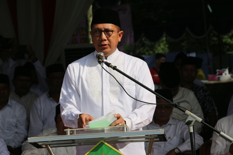 Menag Pimpin 2000 Rohis Ucapkan Ikrar Sebarkan Islam Damai