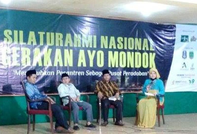 Peserta Silatnas Gerakan Ayo Mondok Ngaji Jaringan Ulama Nusantara