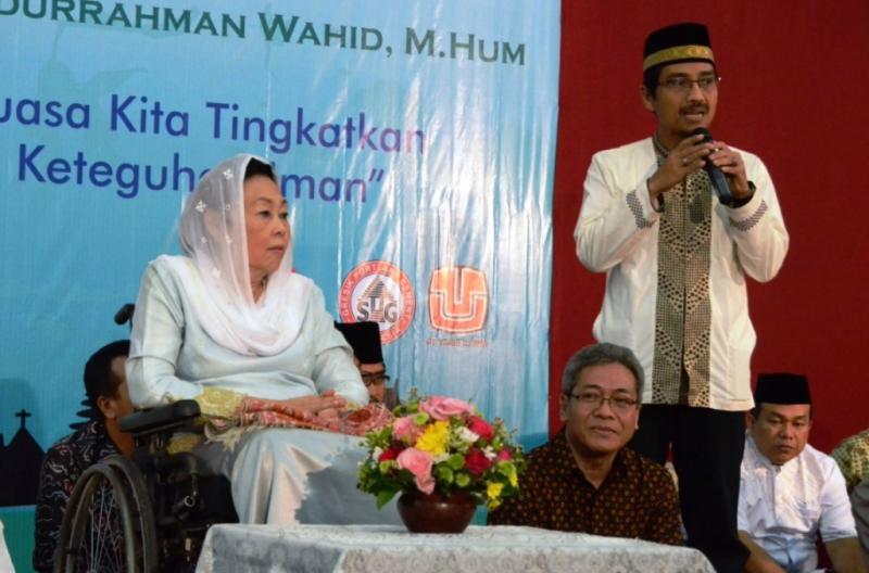 Shinta Nuriyah Berbagi Cerita dan Berbuka Puasa Bersama Yatim Piatu