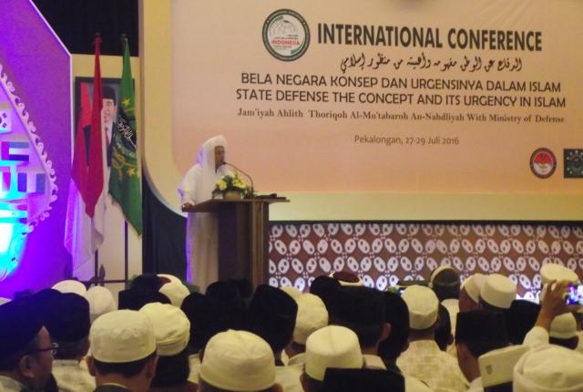 Habib Luthfi dan Menhan Resmi Buka Konferensi Ulama Internasional