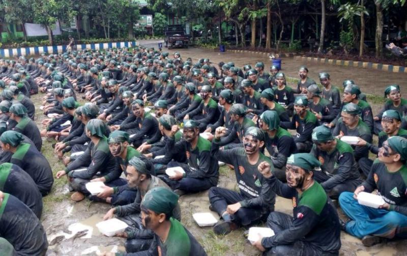 Banser Tangerang Pasang Badan Demi Kebinekaan
