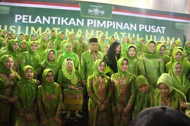 Susunan Lengkap Pengurus PP Muslimat NU 2016-2021