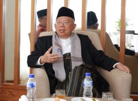 KH Ma'ruf Amin dan Gelar Professornya