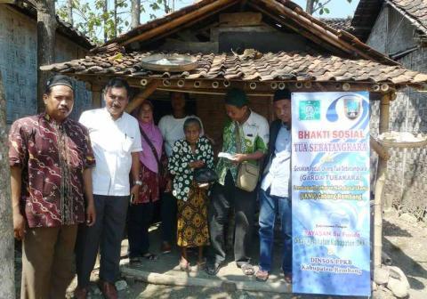 Penerima Santunan Jompo Sebatang Kara PCNU Rembang Bertambah