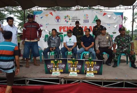 Putra Leman Kemuning Juara Turnamen Ansor Cup Ke-IV