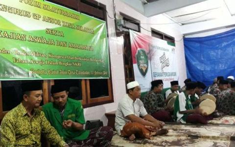 PAC GP Ansor Bandung Kuatkan NU dengan Ngaji Bareng