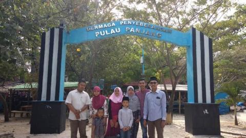 Makam Al Habib Abubakar Magnet Baru Wisata Pulau Panjang