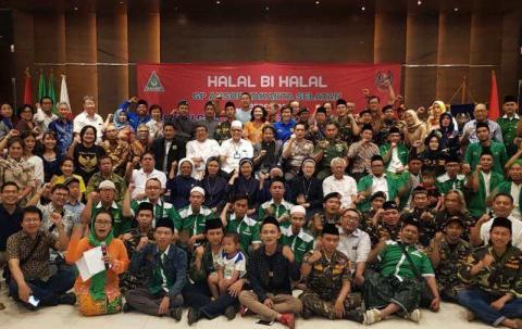 GP Ansor Jaksel Gelar Halal bi Halal Kebangsaan