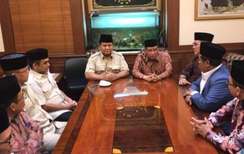Prabowo Kunjungi PBNU