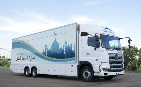 Hormati Atlet Muslim, Jepang Operasikan 'Masjid Mobil' pada Olimpiade 2020