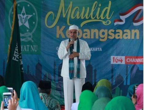 Hadad Alwi Ajak Umat Islam Awali tahun Hijriah dengan Berbagi