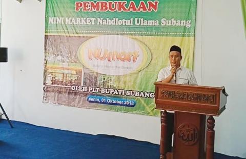 PCNU Subang Luncurkan Minimarket 'NUMart'