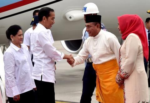Presiden Jokowi Resmikan MTQN di Medan Malam ini