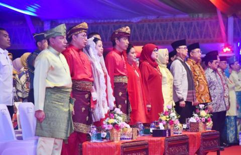 Luangkan Waktu Buka MTQ, Menag Apresiasi Presiden Jokowi
