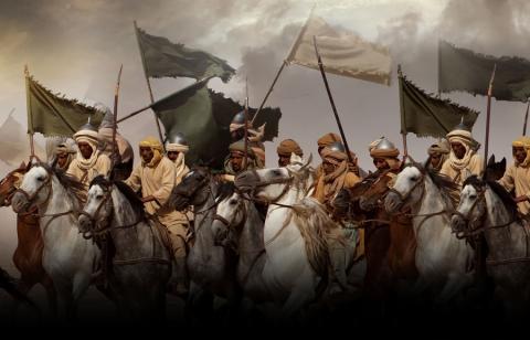 Mengenal Bendera Islam (III): Warna dan Tulisan di Dalamnya