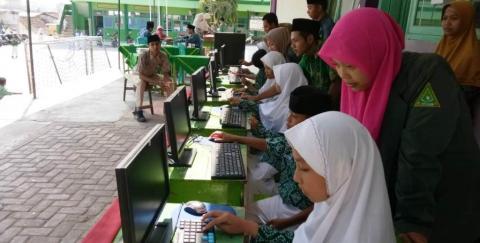 Konferensi IPNU dan IPPNU di Madrasah Ini Gunakan Teknologi