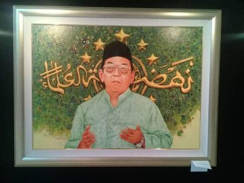 Pelukis: Gus Dur Maha Guru Karena Miliki Karomah Nyata