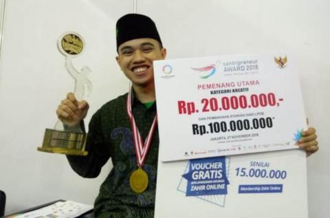 Rahasia Sukses Abdul Wahab melalui Distro Kang Santri