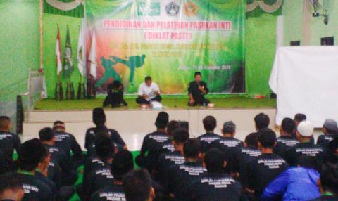 Gelar Diklat, Pagar Nusa Kudus Cetak Pasukan Inti