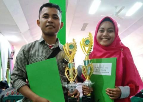 Dua Kader PMII Juara Seleksi Tilawah Qur'an di Pontianak
