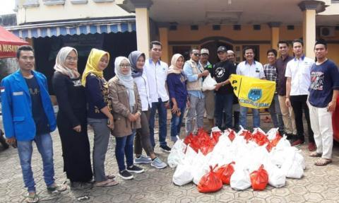 PB PMII Salurkan Bantuan Tahap Pertama untuk Korban Tsunami Banten